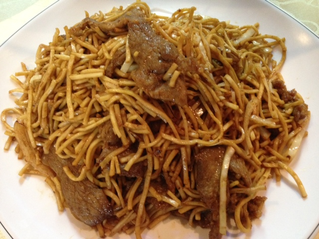Chinese Restaurant Malta Beef Fried Noodles