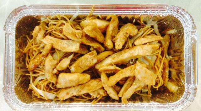 Chinese Restaurant Malta Chicken fried Noodles.